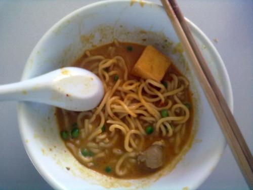 Curry laksa instant noodle 1