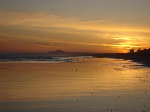portugal atardecer mar playa algarve ocaso montegordo sunsetatthebeach puestadesolenlaplaya
