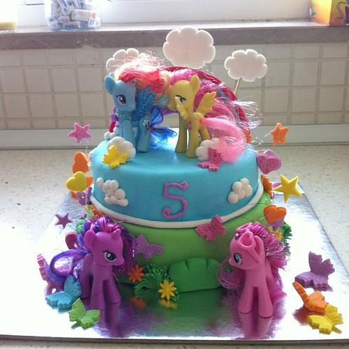 #birthdaycake #mylittlepony by l'atelier de ronitte