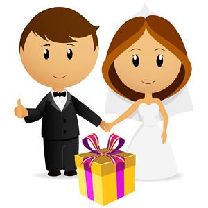 Originelles Hochzeitsgeschenk für das Brautpaar