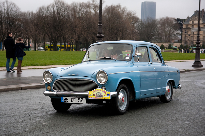 1958-1964 Simca Aronde P60