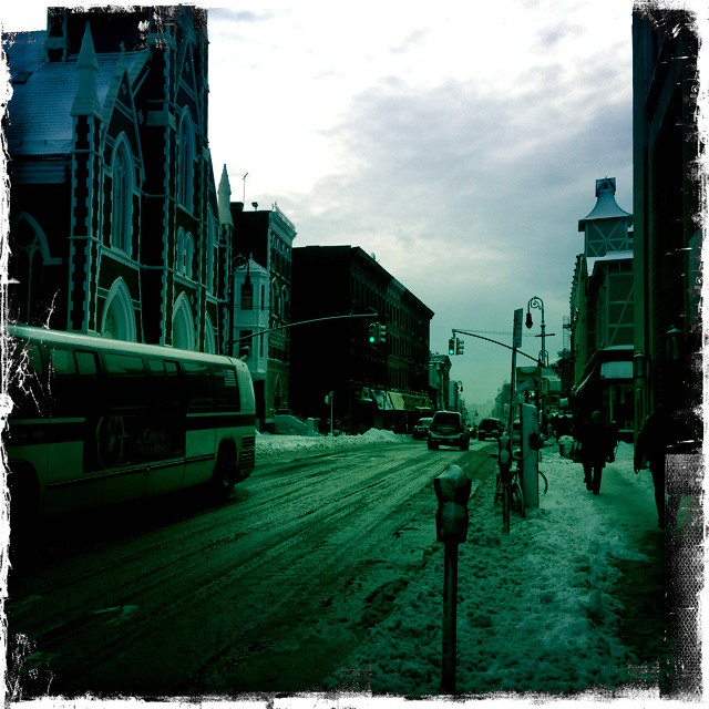 "Greenpoint, after the ""blizzard"""