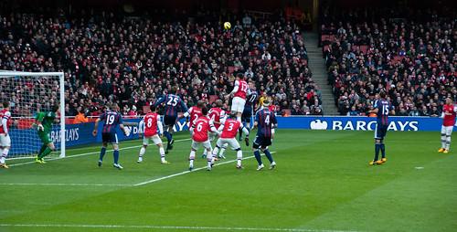 Giroud clears Stoke's corner - #33/365 by PJMixer