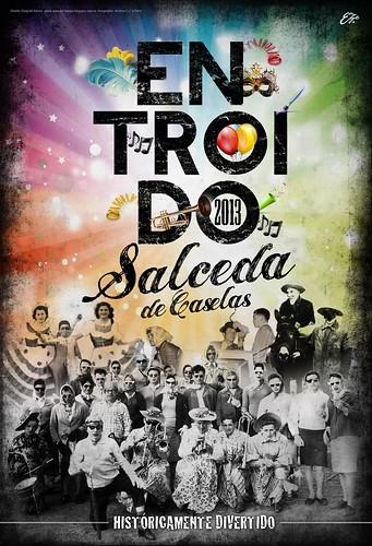 Salceda de Caselas 2013 - Entroido - cartel ©Eze
