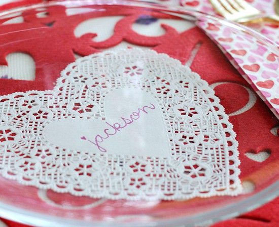 Hi Sugarplum | Valentine Table