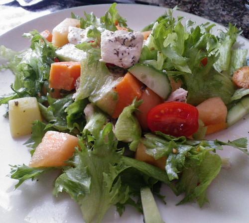 Sitruunakanasalaatti