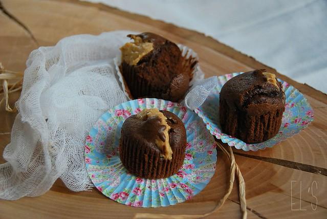 moelleux au chocolat et beurre de cacahu te recette tangerine zest. Black Bedroom Furniture Sets. Home Design Ideas