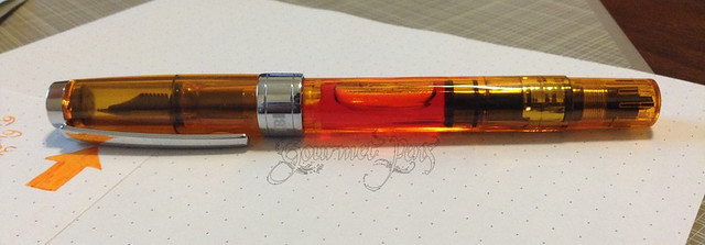 TWSBI Diamond 540 EF + Sailor Apricot