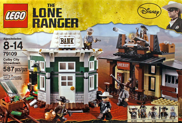 LEGO The Lone Ranger 79109 - Colby City Showdown