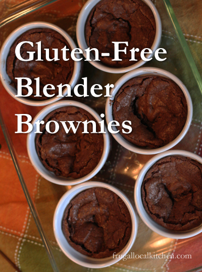 Gluten Free Blender Brownies