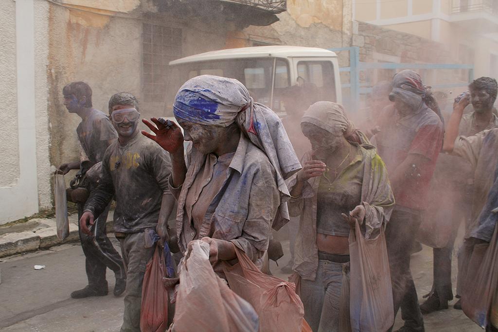 Galaxidi flour war