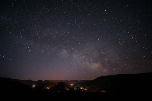 [フリー画像素材] 自然風景, 空, 夜空, 星, 天の川・銀河系, 風景 - アメリカ合衆国 ID:201302212000