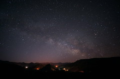 [Free Images] Nature, Sky, Night Sky, Stars, Milky Way, Landscape - United States of America ID:201302212000