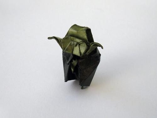 Origami Yoda Pin