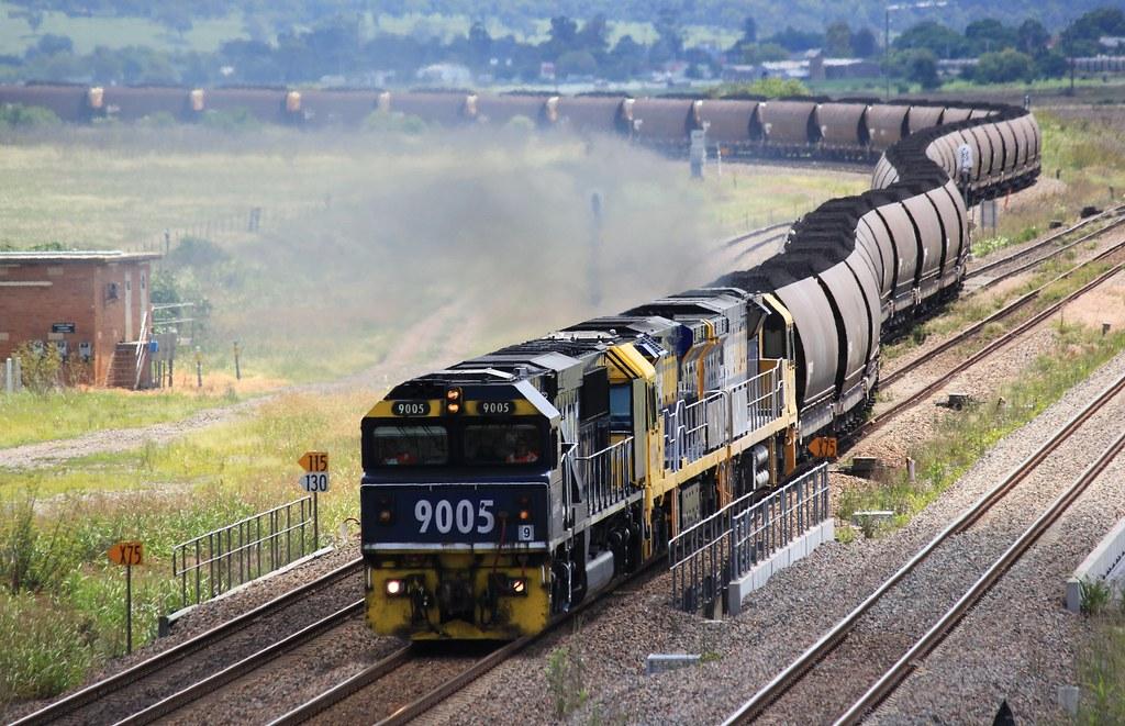 15/02/2013 9005+9203+9210 Up Coal @ Whittingham by John  Hammett