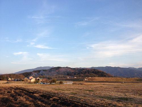 藤原宮跡から眺める大和三山-02