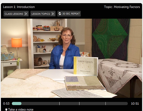 Cindy Needham Craftsy Free-Motion Quilting 1