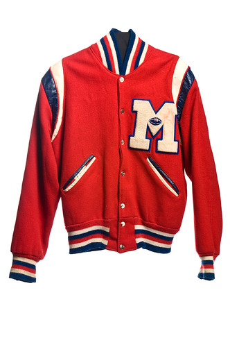 Football letter jacket, 1964