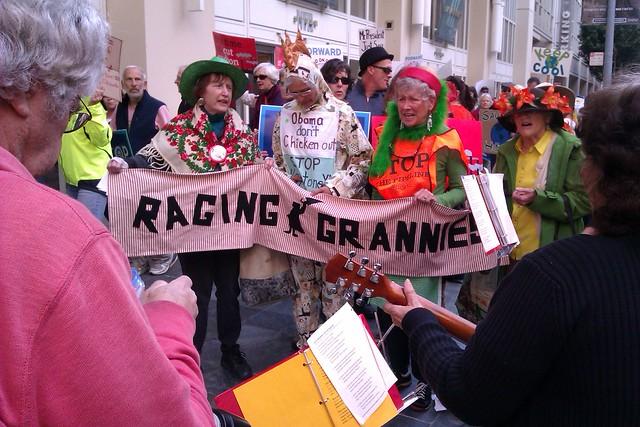 SF rally