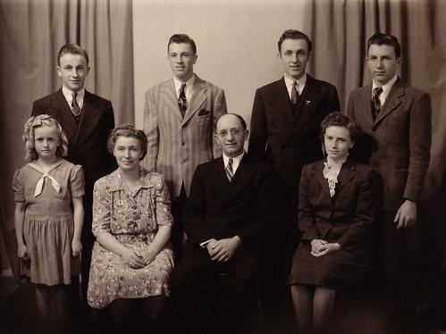Cornelis Arie Koops Family