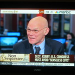 James Carville on MSNBC