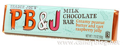 Trader Joe's PB&J Milk Chocolate Bar