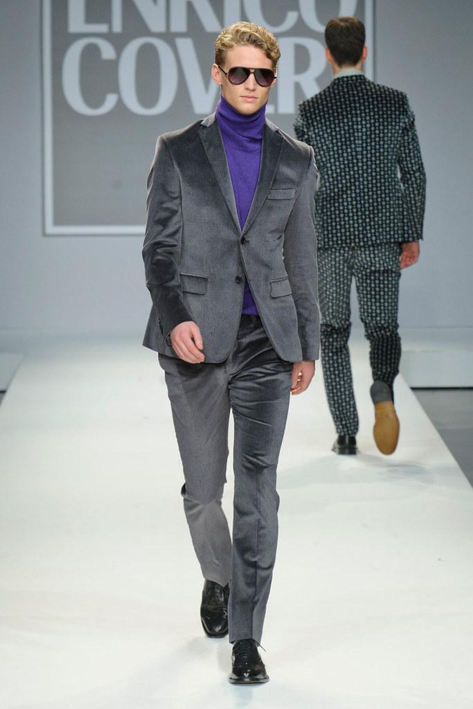 Alexander Johansson3529_FW13 Milan Enrico Coveri(fashionising.com)