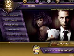 MiamiClub Casino Lobby