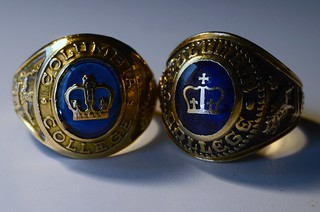 Columbia College Rings