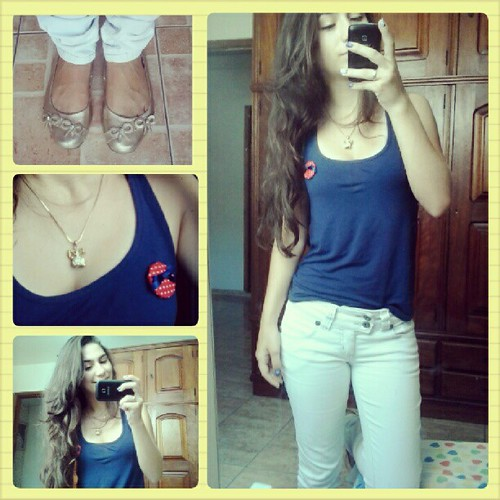Look do dia #Facul #Fisio #Look