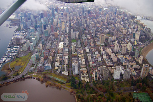 Aerial Photos from my News1130 Fly-Along