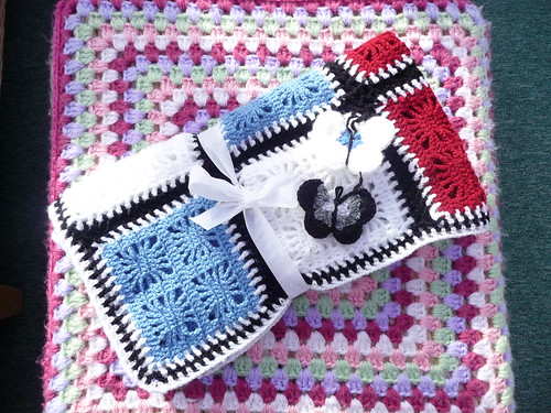 Lesley (UK) 363 - 'Webbed Lace' (2) Made and donated by Lesley. Thank you!