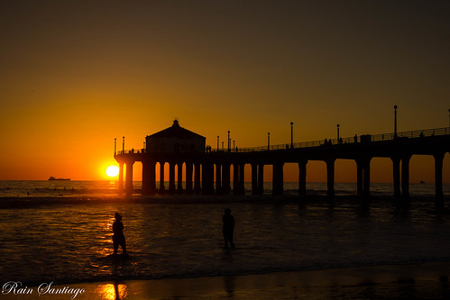 Timeless Manhattan Beach Pier Sunset
