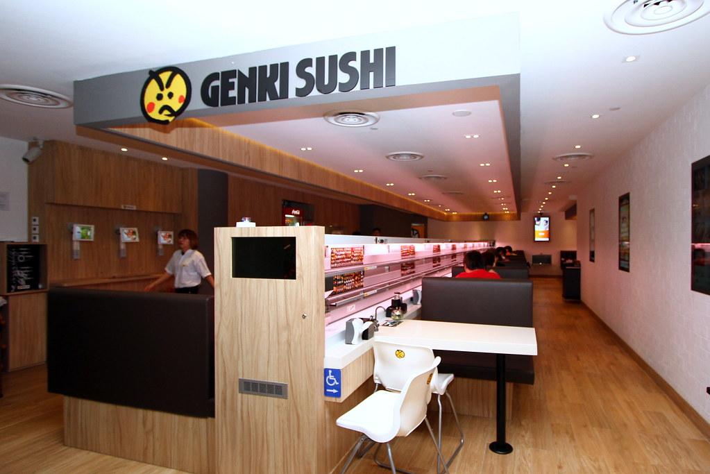 Genki Sushi The Most High Tech Sushi Restaurant In Singapore
