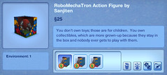 RoboMechaTron Action Figure by Sanjiten