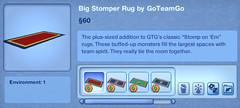 Big Stomper Rug by GoTeamGo