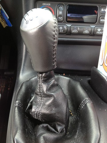 C6 shift knob on C5 corvette.