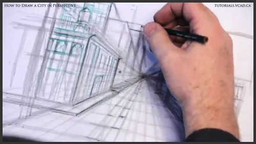 learn how to draw city buildings in perspective 013