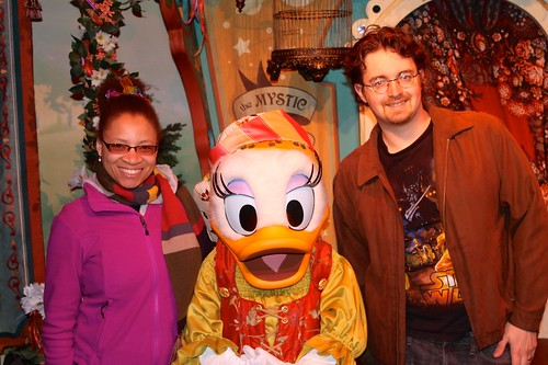Daisy Duck!