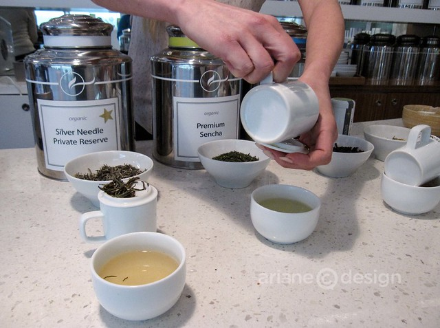 Teaja Yaletown/Tea cupping