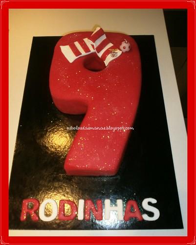 Bolo Nº 9 Rodinhas by Osbolosdasmanas