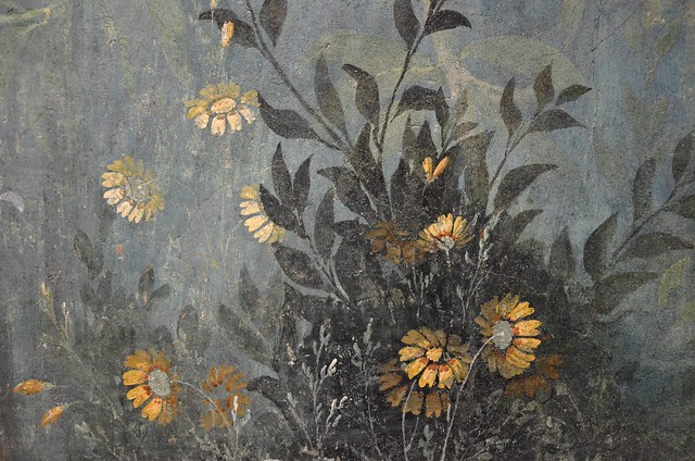 The Garden Painting of the Villa of Livia at Prima Porta in Rome (30-20 BC), Palazzo Massimo alle Terme, Rome