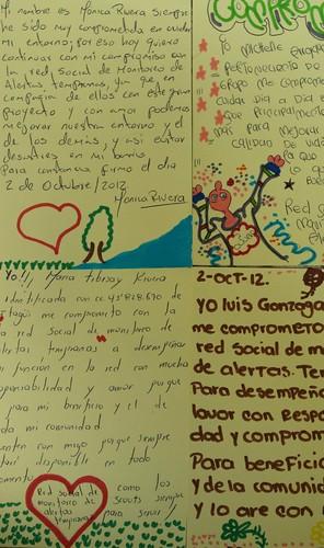 Cartas de Amor de los Voceros del Agua y de la Tierra de Sabaneta