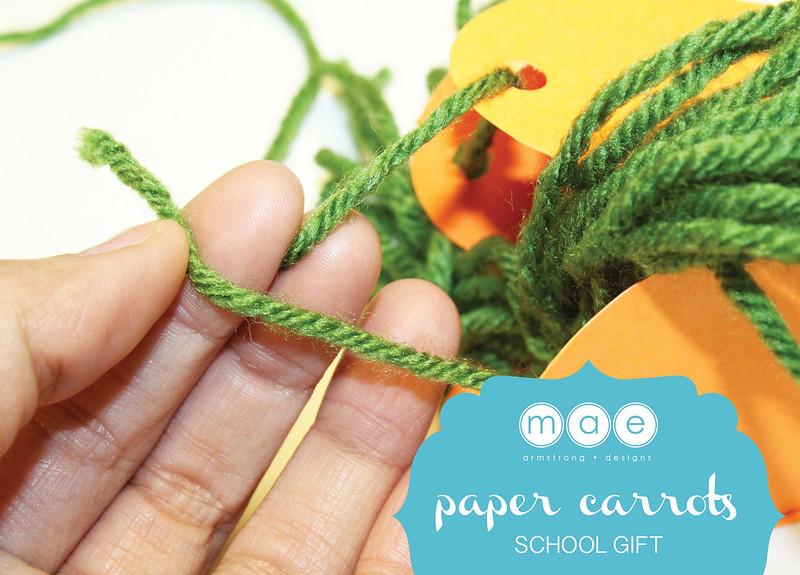 Paper Carrots - School Gift6