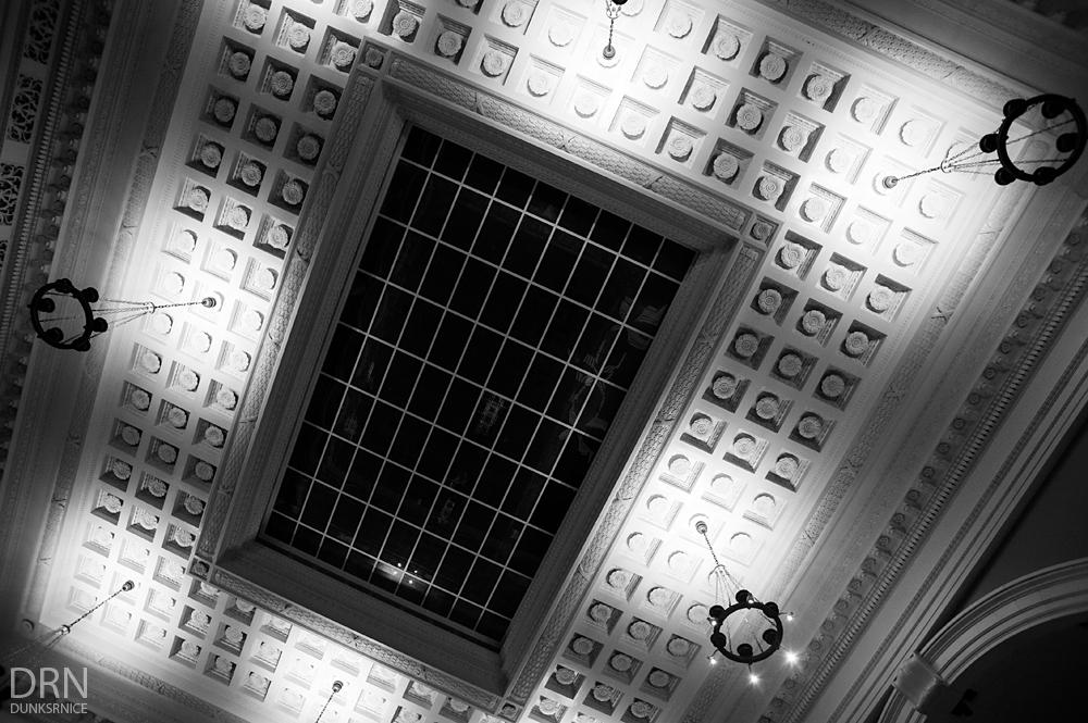 Ceiling B&W.