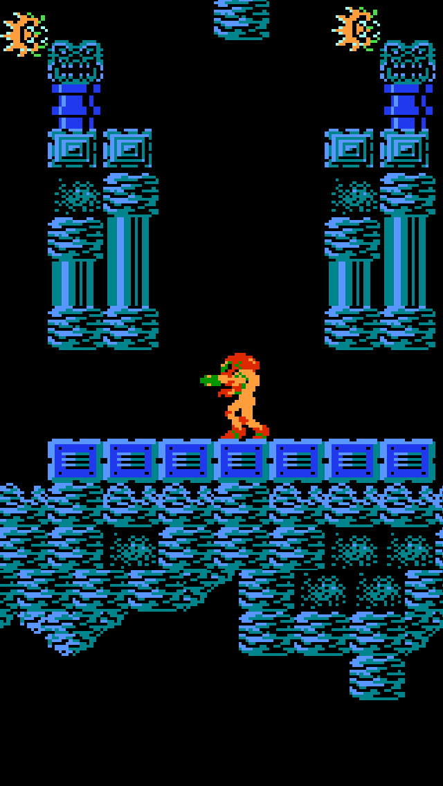 Metroid iPhone 5 wallpaper
