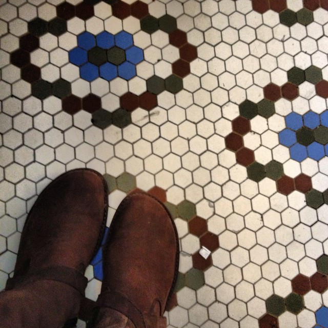 Waiting for Lunch #mosaictile #tuscola