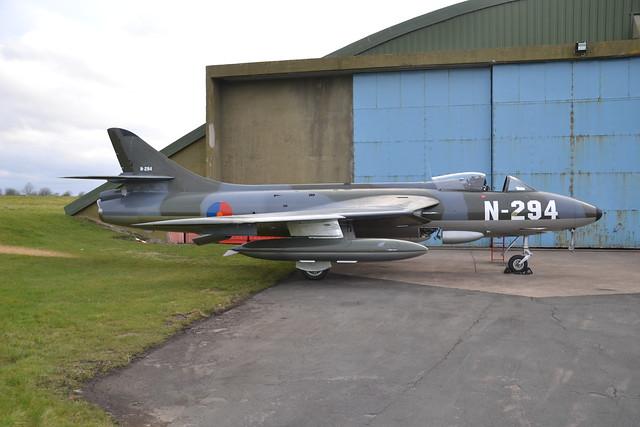 N-294 G-KAXF Hunter F.6A