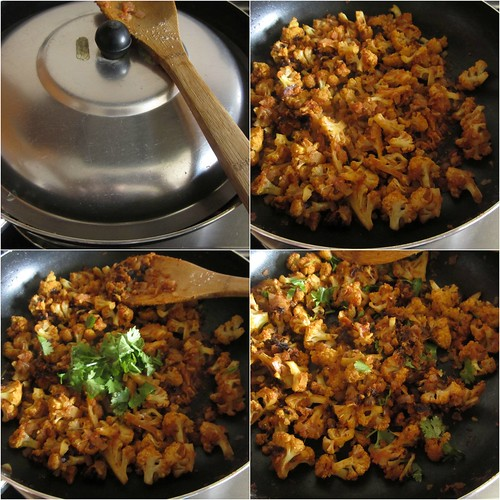 Dry Cauliflower Sabzi{For Roti}-step5