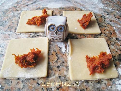 Mini empanadillas de chorizo de untar (20)